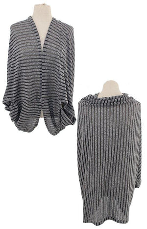Striped Shrug