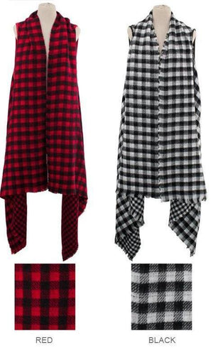 Plaid City Vest