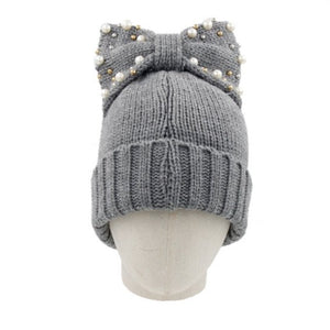 High-Bow Beanie