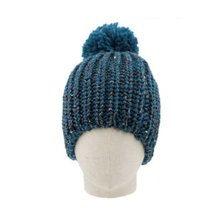 Heather Beanie with PomPom