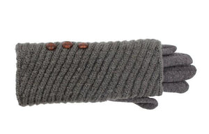 Ribbed Knit Gloves