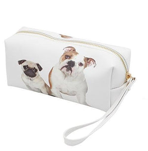 Pug & Bulldog Pencil Pouch