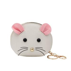 Mouse Key Chain Coin Purse