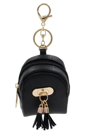 Tasseled Key Chain Coin Purse