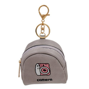 Camera Key Chain Coin Purse