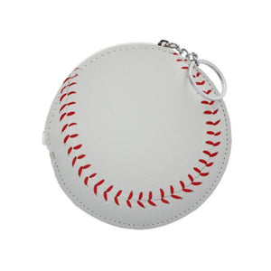 Baseball Key Chain Coin Purse