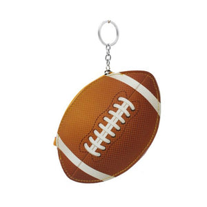 Football Key Chain Coin Purse
