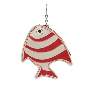 Fish Key Chain Coin Purse