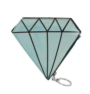 Diamond Key Chain Coin Purse