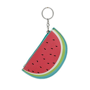 Watermelon Key Chain Coin Purse