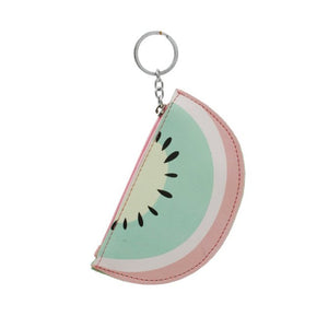 Kiwi Key Chain Coin Purse