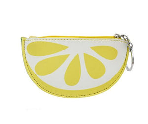 Lemon Key Chain Coin Purse