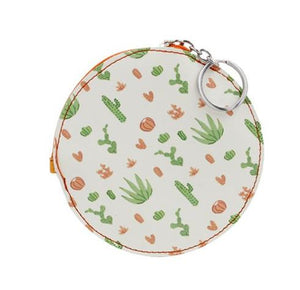 Cactus Key Chain Coin Purse