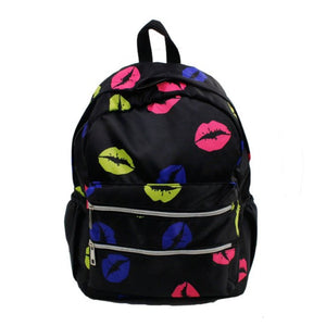 Neon Kisses Backpack