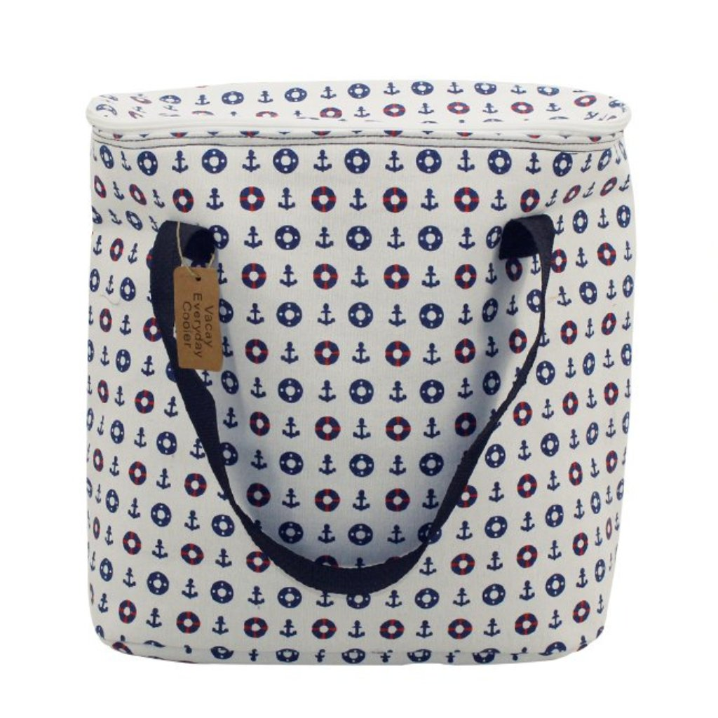 Nautical Soft Cooler Bag