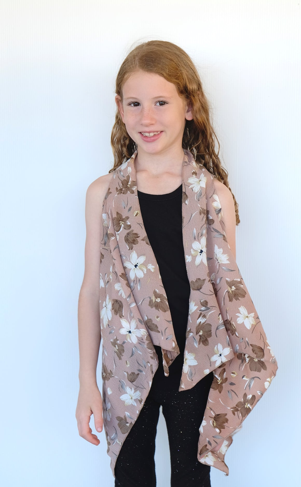 Kid's Light Flower Vest