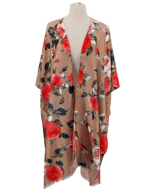 Divine Roses Poncho