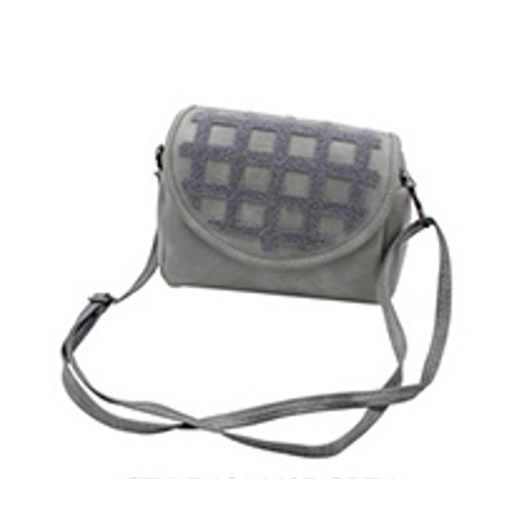 Grid Design Crossbody