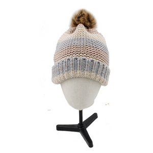 Pastel Knitted Beanie