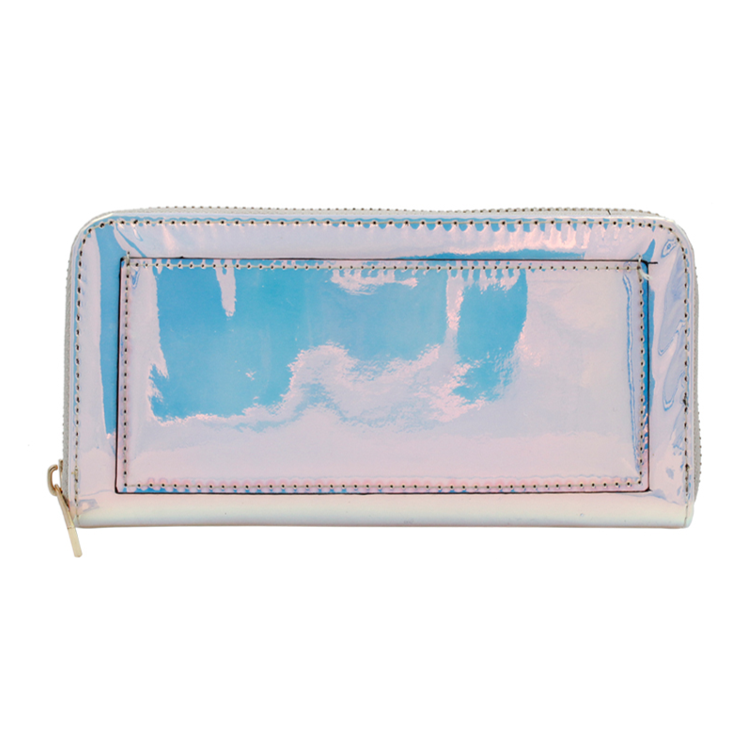 Iridescent Metallic Wallet