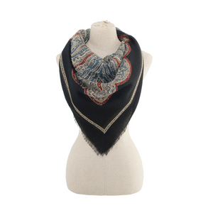Ornate Square Scarf