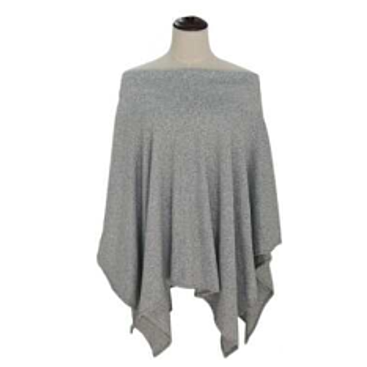 Off-the-Shoulder Poncho