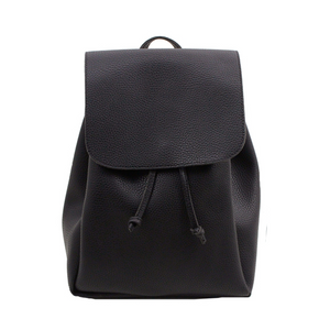 Drawstring Flap Backpack