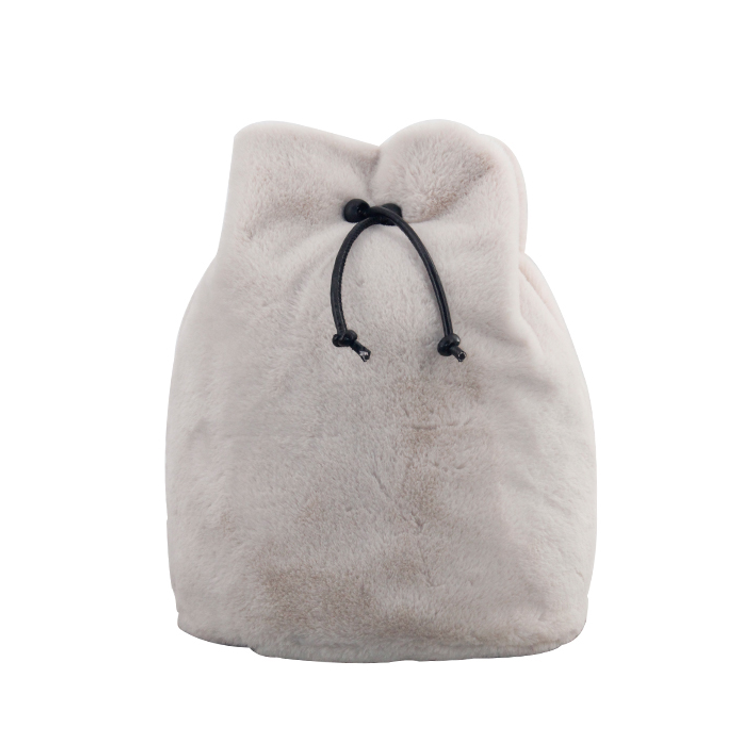 Faux Fur Sling Backpack