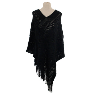 Fall Nights Poncho