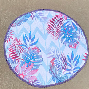 Paradise Pink Round Towel