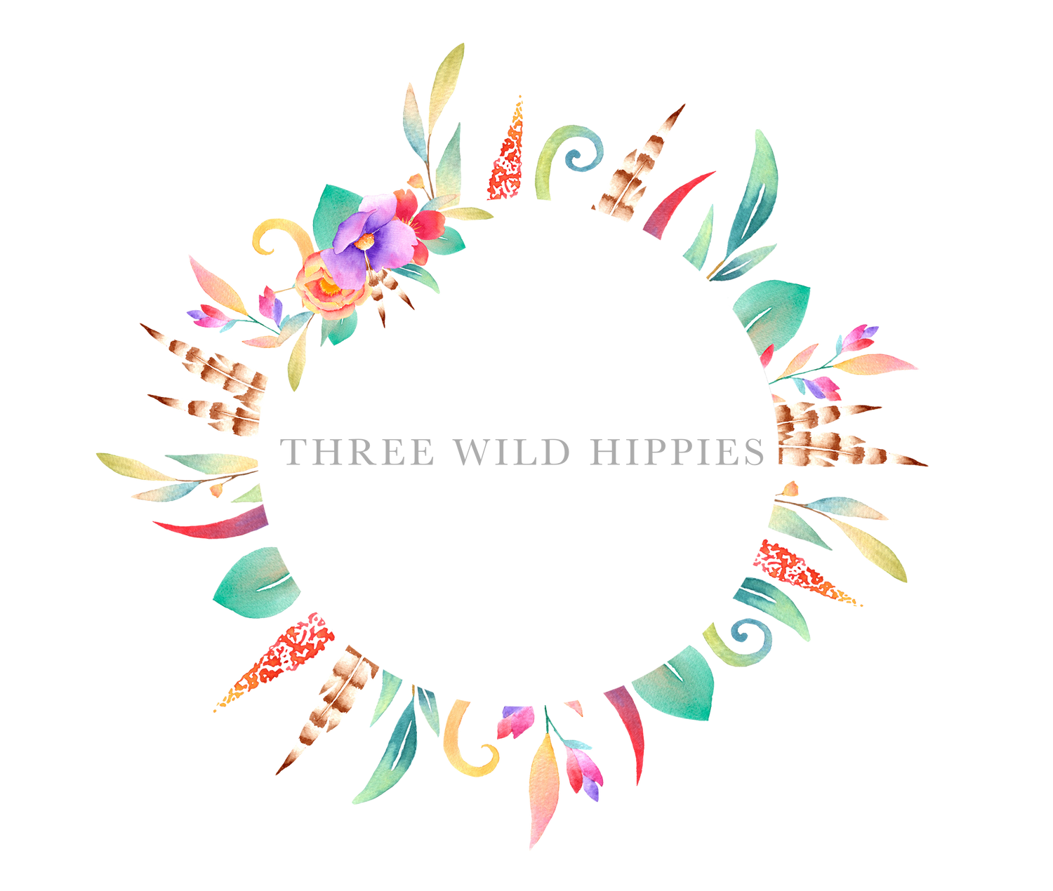 Three Wild Hippies