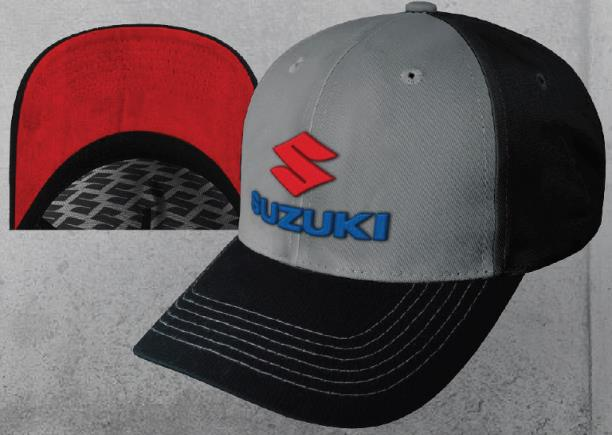 Suzuki 3D Embroidered Logo Cap