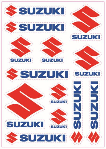 Suzuki A5 Sticker Sheet
