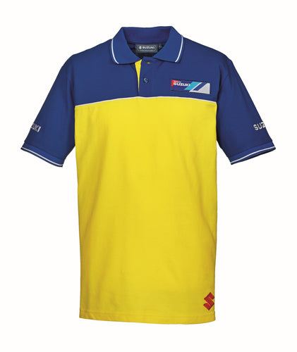 TEAM YELLOW MEN'S POLOSHIRT