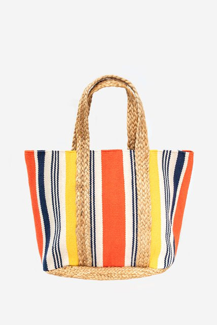 Jute Bag Yellow and Orange