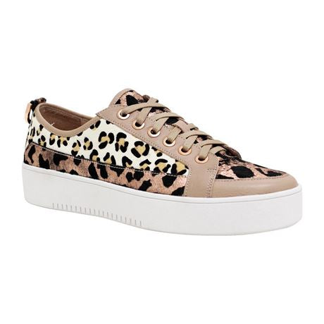 Laci Copper/leopard Sneakers