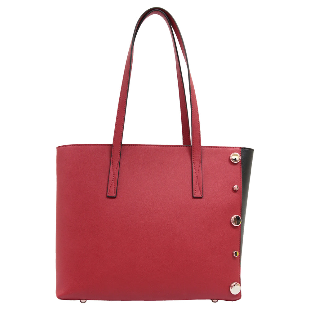 Paloma Tote Red/Black