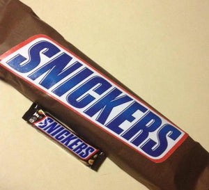 Giant Snickers Bar