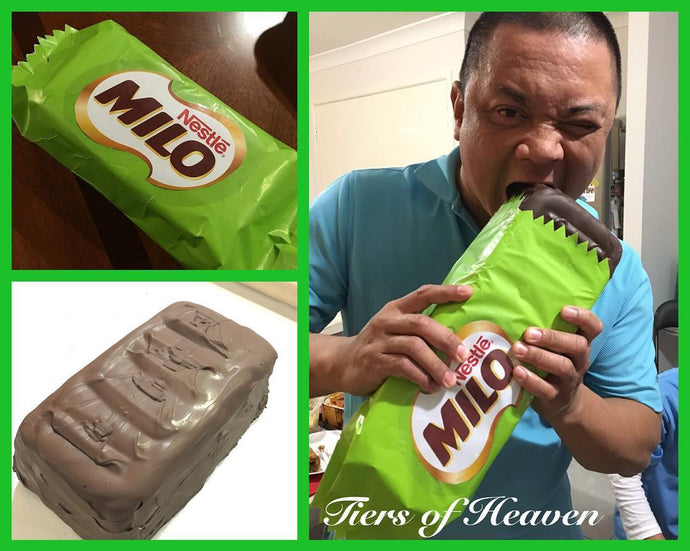 Giant Milo chocolate bar