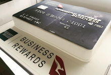 Load image into Gallery viewer, 3D AMEX Credit Card Cake