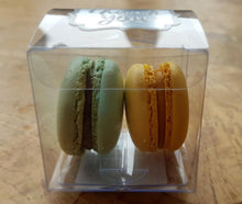 Load image into Gallery viewer, macarons in plastic box