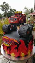 Load image into Gallery viewer, Monster Truck Birthday Cake