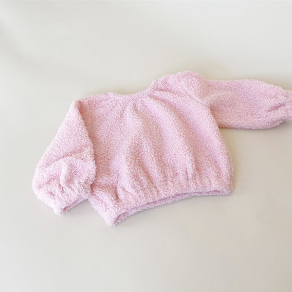 COZY SWEAT - PINK TEDDY