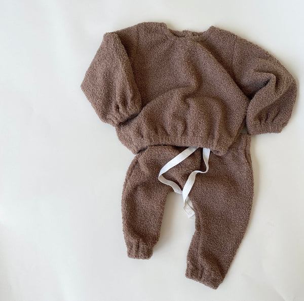 COZY TRACKIES - CHOC TEDDY