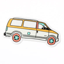 Astro Van Sticker