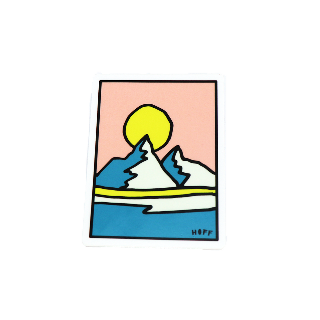 HOFF Mountain Sticker