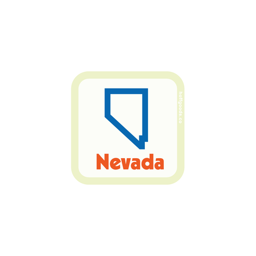 NEVADA CLASSIC STICKER