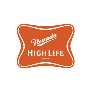 Nevada High Life Sticker