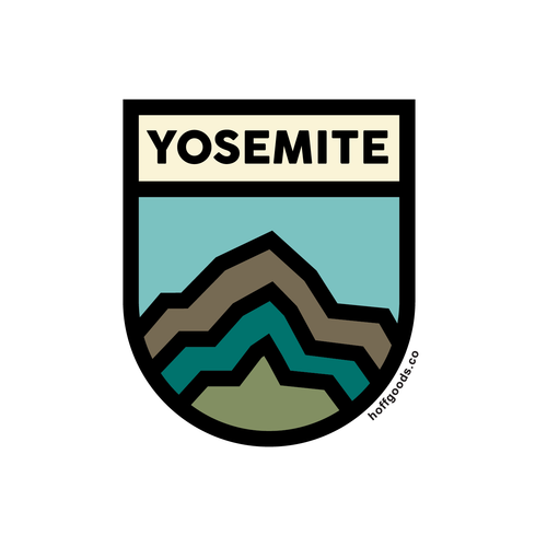 Yosemite Sticker