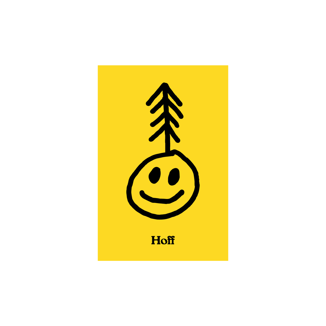 Smiley Tree Sticker